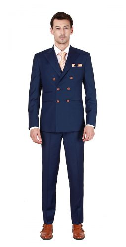Men's Sky Blue Suit - Premium Bespoke Suits Online. Men's Clothing
