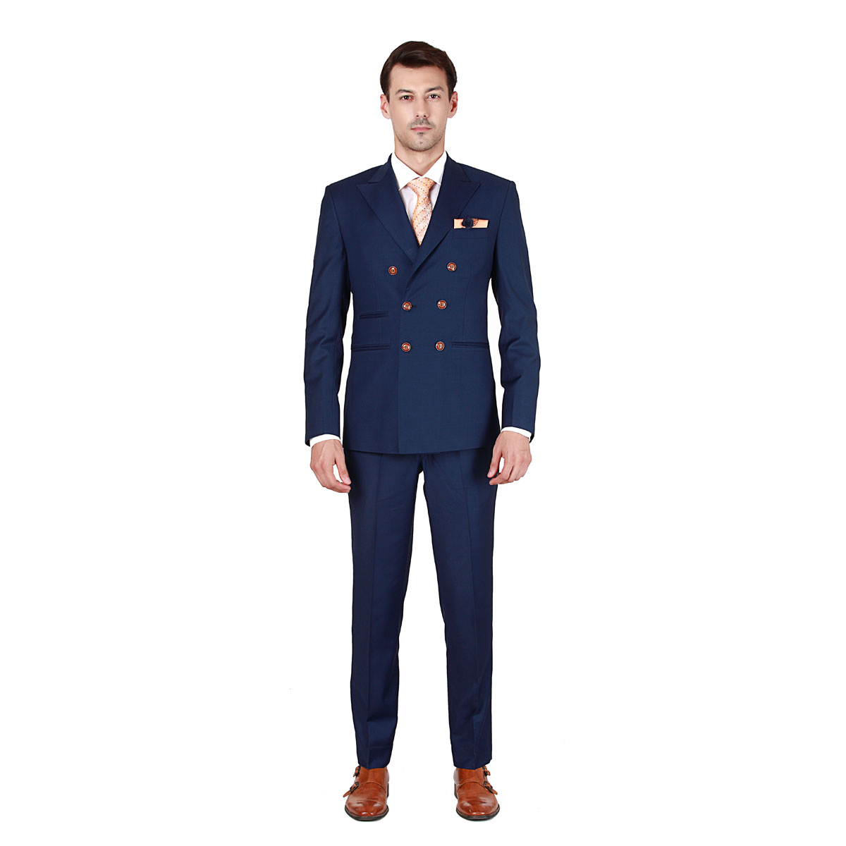 Dream & Dare Blue Suit - Premium Bespoke Suits Online. Men's ...