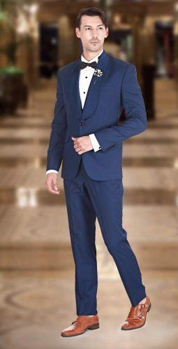 Navy Blue Archives - Premium Bespoke Suits Online. Men's Clothing ...