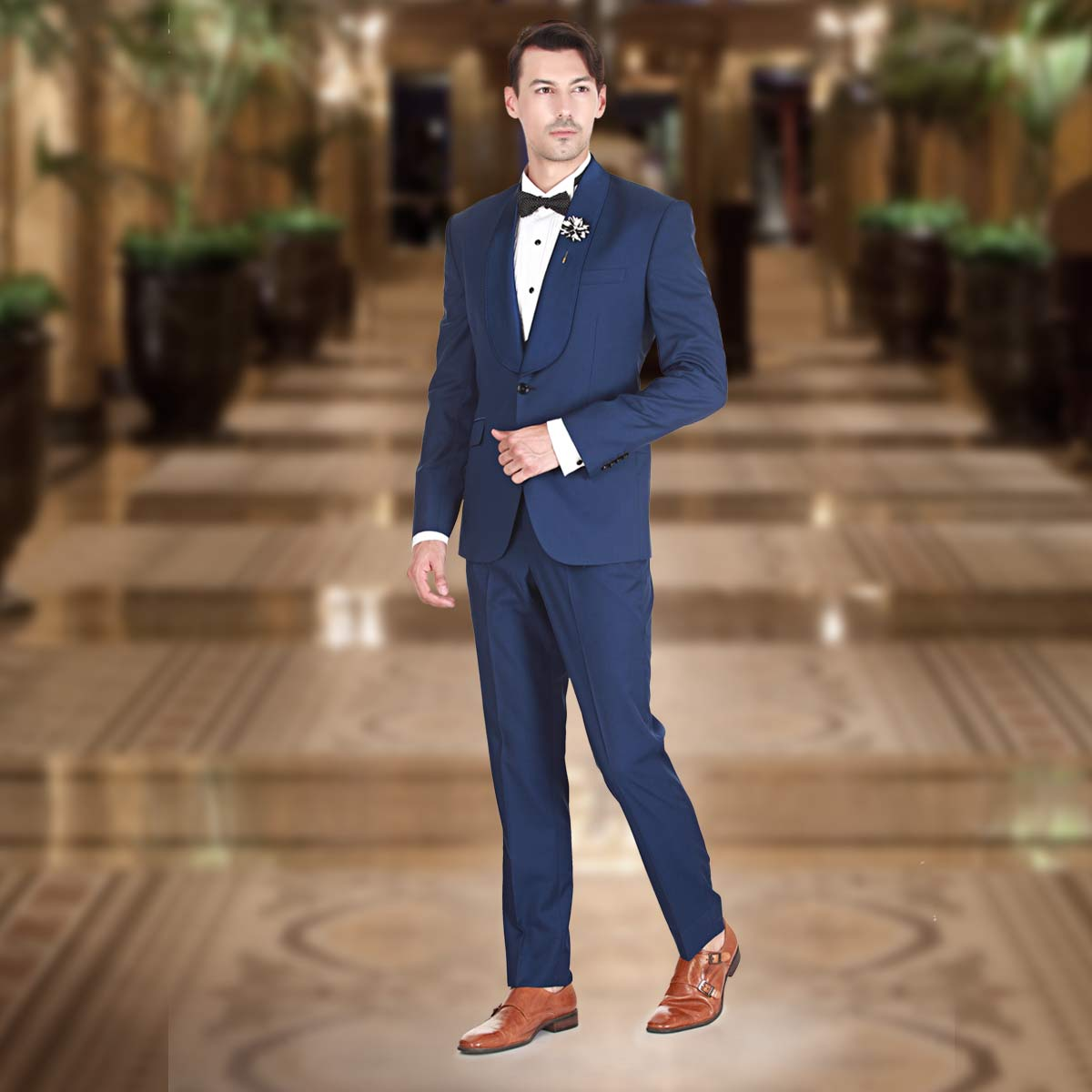 Blue Suit - Premium Bespoke Suits Online. Men's Clothing Stores