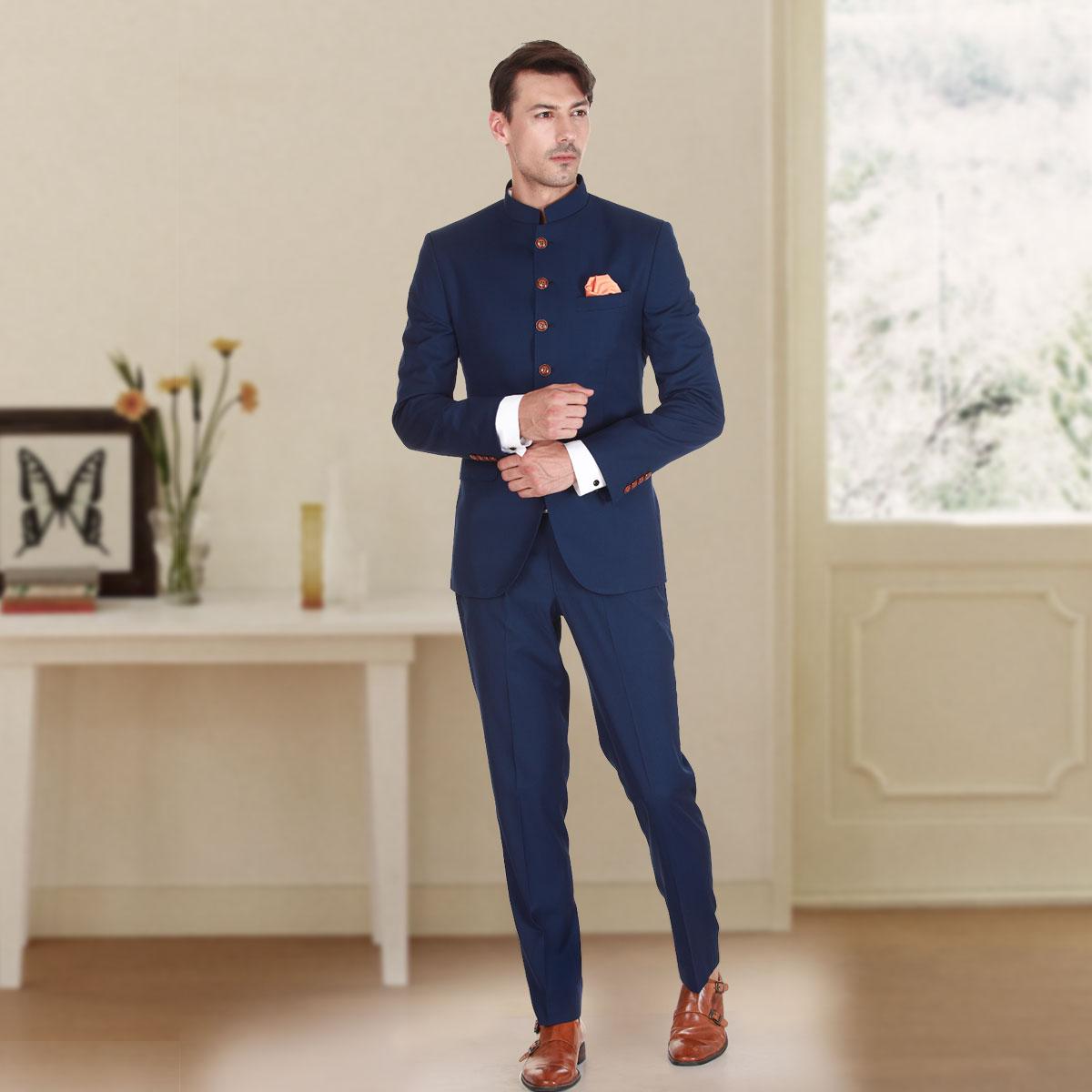Love Me Jodhpuri Suit - Premium Bespoke Suits Online. Men's ...