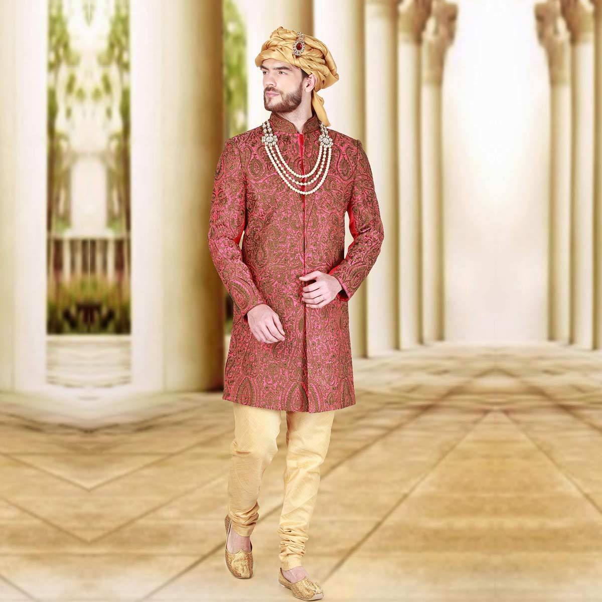 Fall In Love Sherwani - Premium Bespoke Suits Online. Men's ...