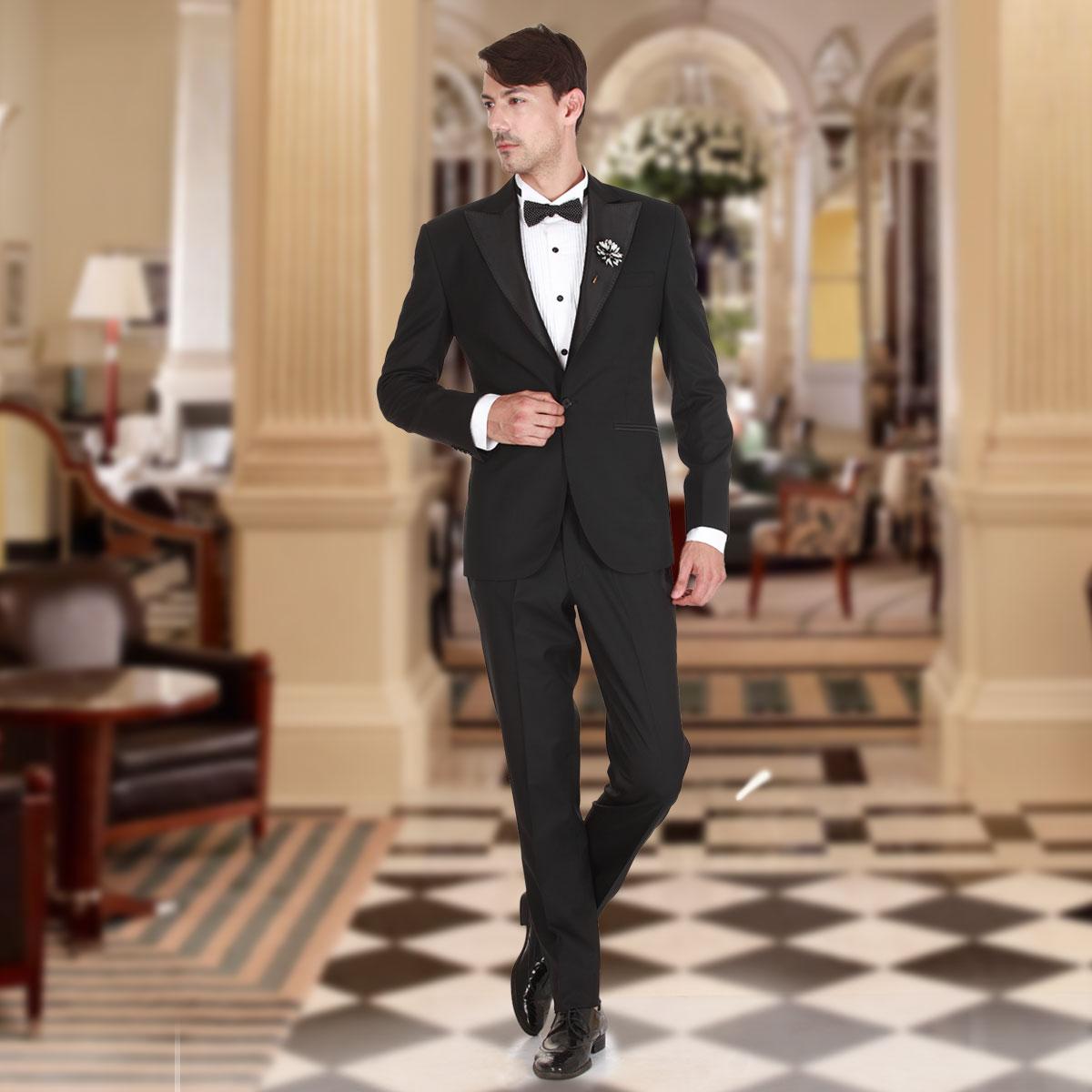 most desirable fashion kid fashion style King Black Suit
