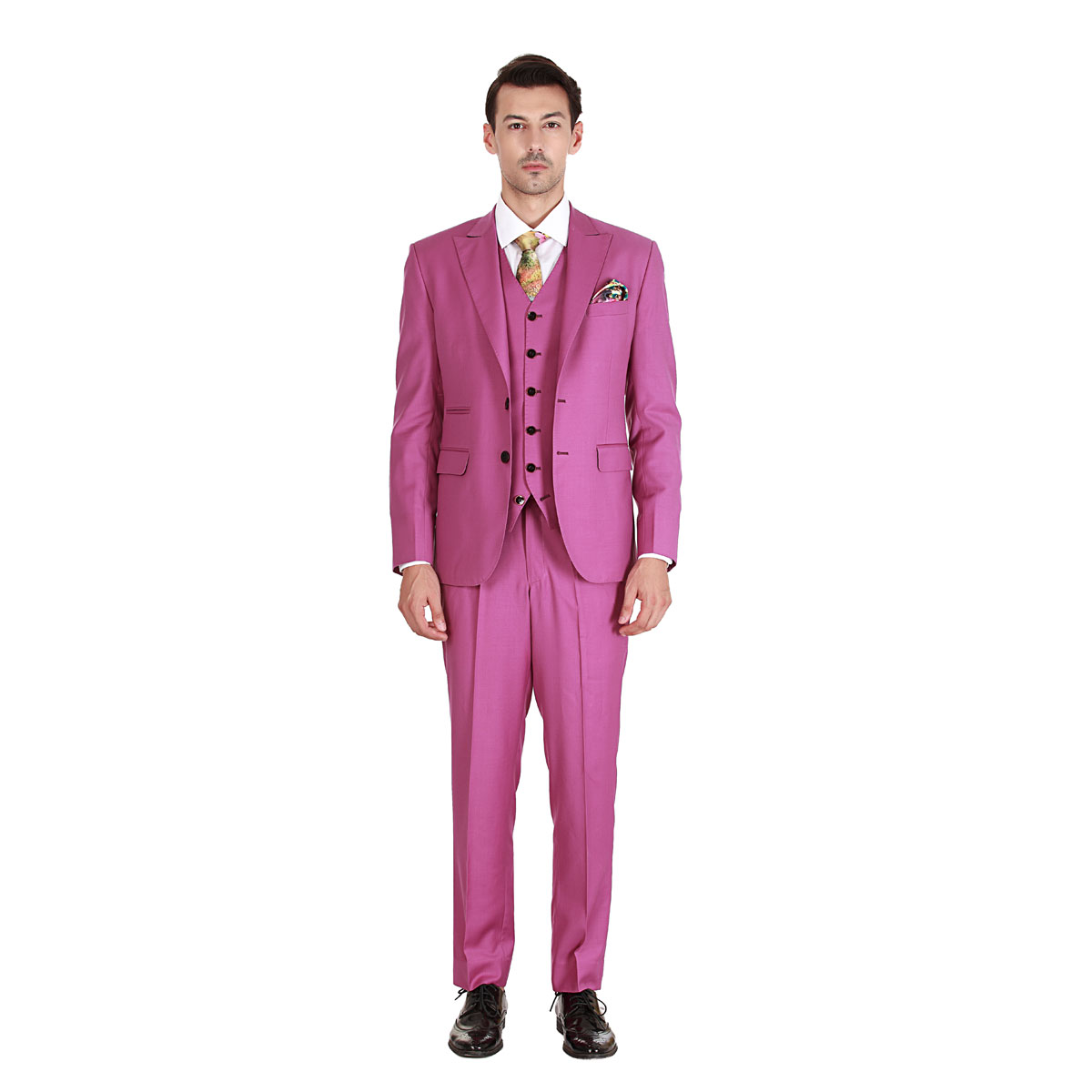 Pink Love Suit - Premium Bespoke Suits Online. Men's Clothing ...