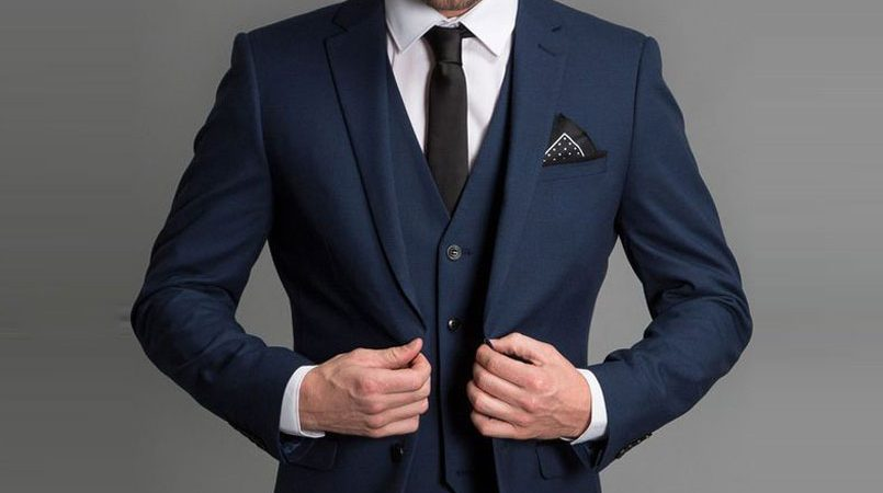 premium bespoke suits online, men\'s custom suits